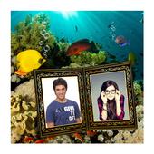 Dual Photo Aquarium Wallpaper icon