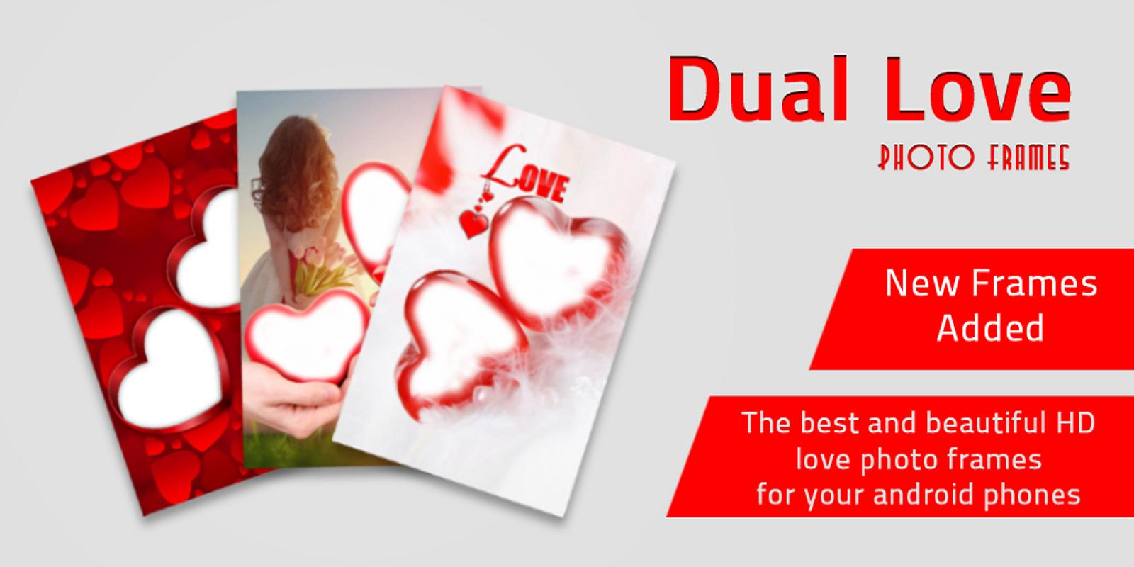 Dual Love Photo Frames APK Download - Free Personalization APP for ...