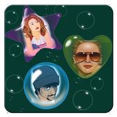 Bubble Shape Photo Collage icon