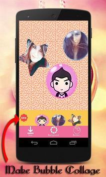 Bubble Shape Photo Collage screenshot 7