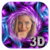 3D Art Photo Frame Landscape icon