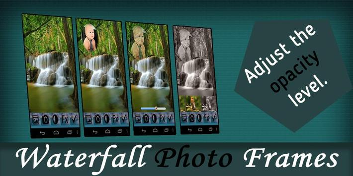 Waterfall Photo Frames poster