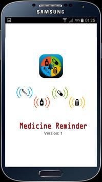 Medicine Reminder poster