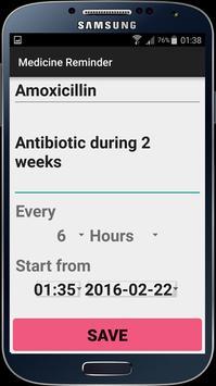 Medicine Reminder screenshot 1