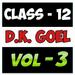 Account Class-12 Solutions (D K Goel) Vol-3