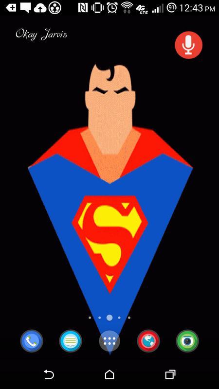 Superhero Live Wallpaper Poster