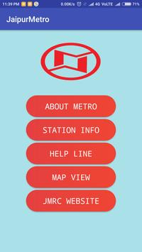 JaipurMetro Rail screenshot 1