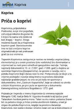 TZ grada Koprivnice apk screenshot
