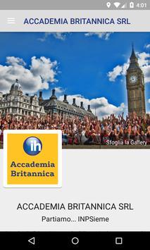 Accademia Britannica poster