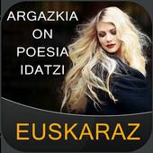 Write Basque Poetry on Photo icon