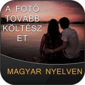 Write Hungarian Poetry on Photo icon