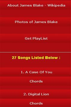 All Songs of James Blake apk screenshot