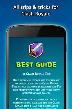 Cheats For Clash Royale -Guide screenshot 1