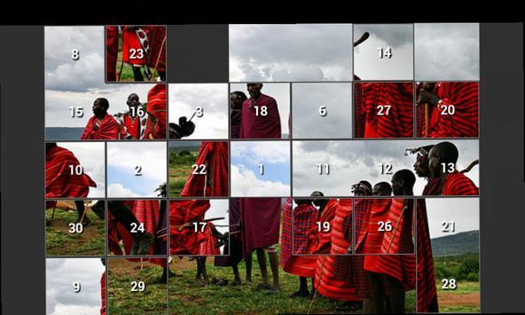 15 Tile Sliding Puzzle screenshot 1