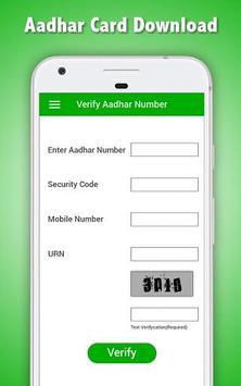Aadhar Card Download स्क्रीनशॉट 8