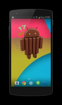 KitKat Clock Widget screenshot 2