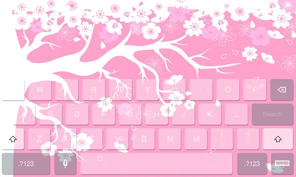 Japan Theme Cute Keyboard screenshot 1