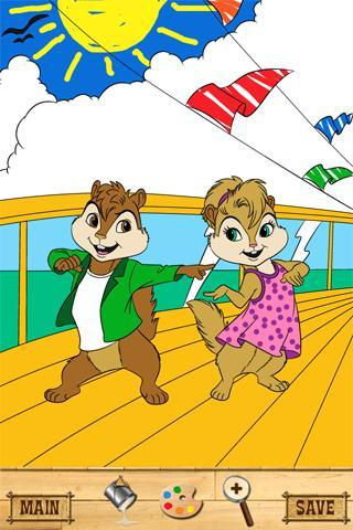 Alvin And The Chipmunks Chipwrecked Coloring Pages - Coloring Home | 480x320