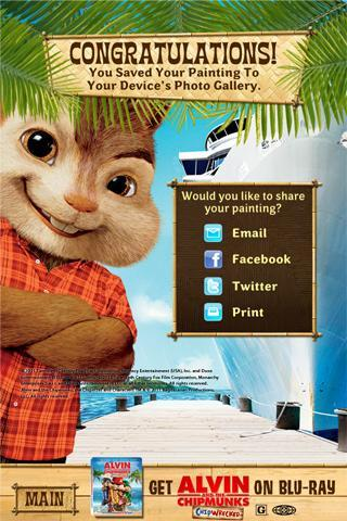 Alvin and the Chipmunks ~ Chipwrecked Coloring and Activity Book ... | 480x320