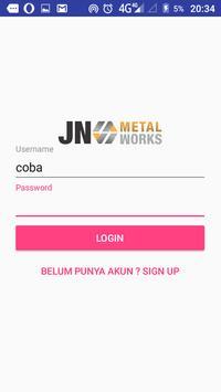 JNMetal Order apk screenshot