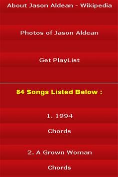 All Songs of Jason Aldean screenshot 2