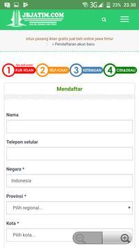 Jual Beli Jawa Timur screenshot 2