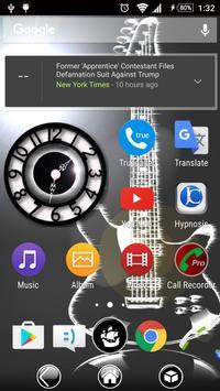 Black Clock Widget screenshot 1