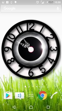 Black Clock Widget screenshot 2