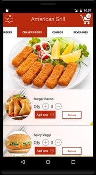 American Grill - Food Delivery apk screenshot