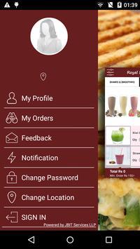 Royal Bakery- Food Delivery screenshot 1