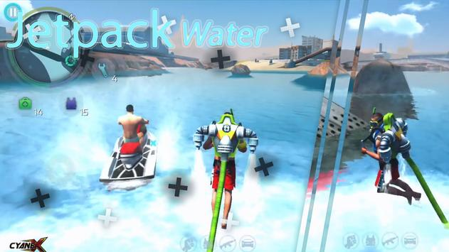 Water Jetpack 3D: flying Speed Racing スクリーンショット 4