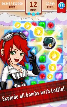 Jewel Mania - Match 3 apk screenshot
