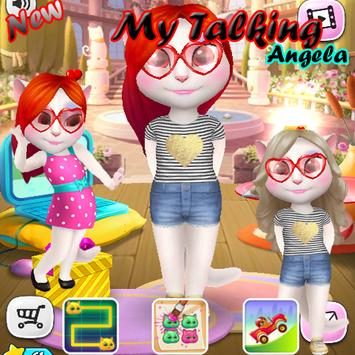 Guide My Talking Angela Trick poster