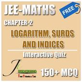 JEE MATHS LOGARITHM, SURDS AND INDICES MCQ icon