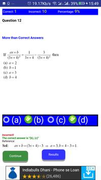 JEE MATHS LOGARITHM, SURDS AND INDICES MCQ screenshot 2