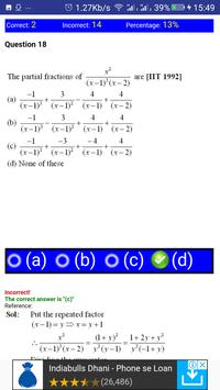 JEE MATHS LOGARITHM, SURDS AND INDICES MCQ screenshot 3