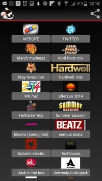 JV mixes screenshot 1