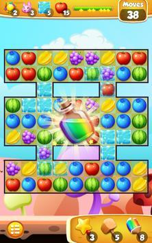 Jelly Mania Crush Fruit 스크린샷 8
