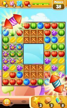 Jelly Mania Crush Fruit 스크린샷 9