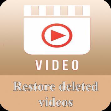 Restore deleted videos apk screenshot