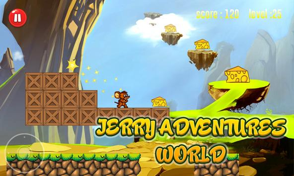 Jerry adventures world cheese apk screenshot