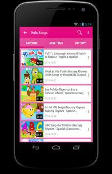 Kids Songs For English screenshot 3