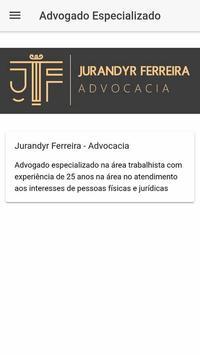 JF Advocacia poster