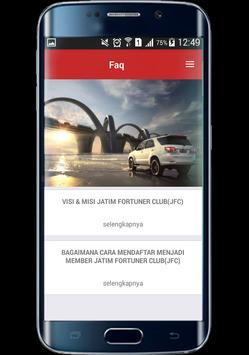 JFC Jatim Fortuner Club screenshot 6