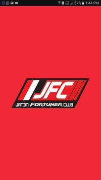 JFC Jatim Fortuner Club poster