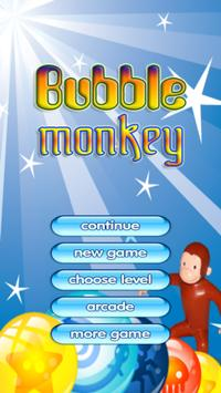 Monkey Bubble Shoot poster