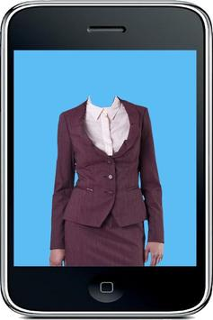 Business Woman Photo Suit poster