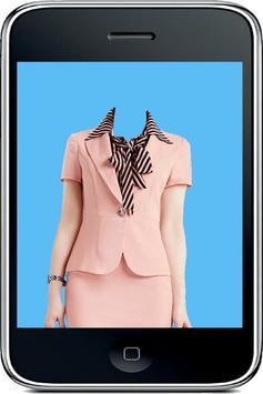 Business Woman Photo Suit apk screenshot