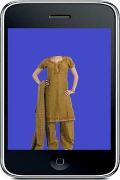 Girl Dress Photo Suit Camera apk screenshot