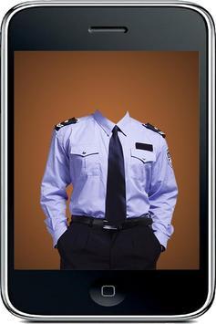 Police Suit Camera Maker apk screenshot